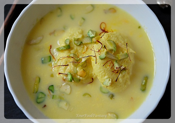 Delicious Home Made Rasmalai Recipe | Your Food Fantasy by Meenu Gupta