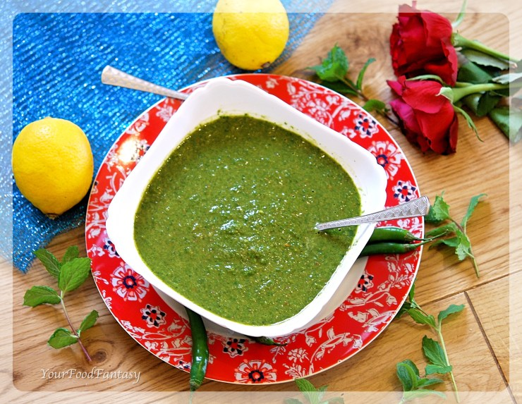 Dhaniya Chutney Recipe | YourFoodFantasy.com by Meenu Gupta