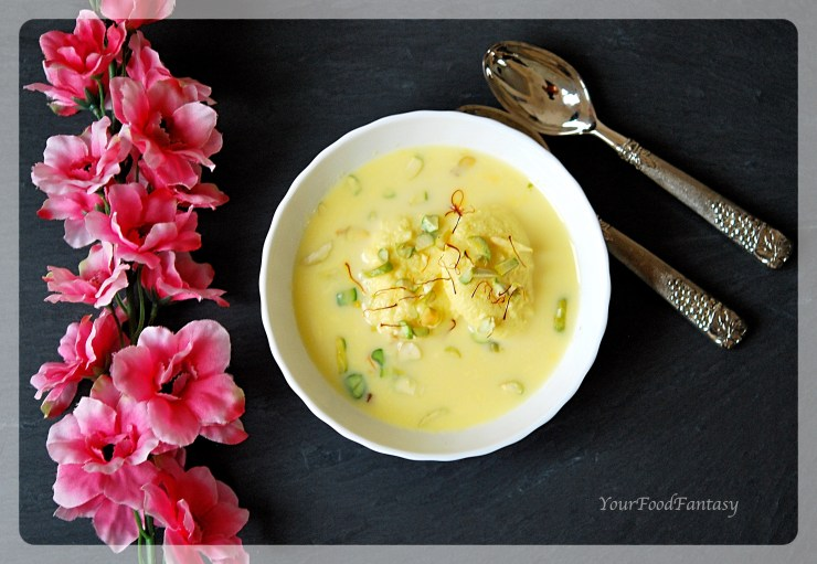 Easy Home made Rasmalai Recipe | YourFoodFantasy.com by Meenu Gupta