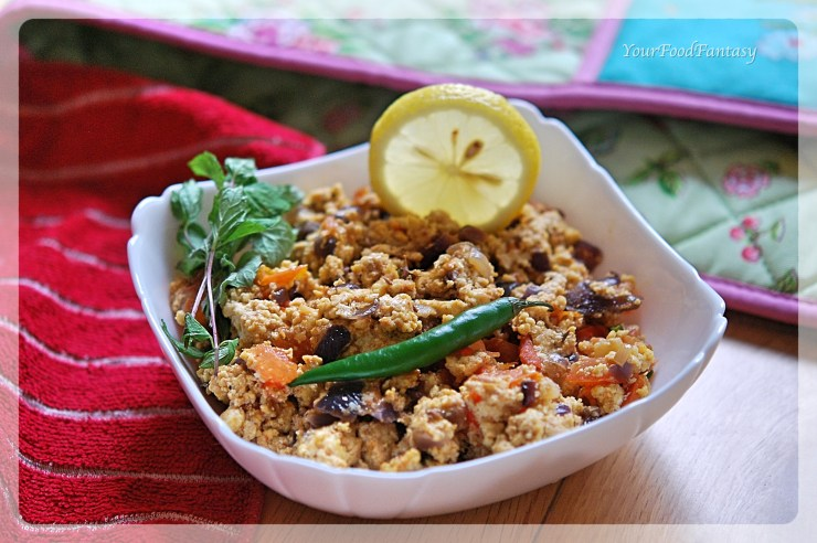 Dhaba Style Paneer Bhurji   How to make Paneer Bhurji at home