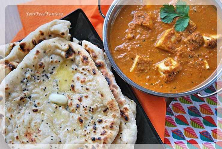 How to make butter naan at home | YourFoodFantasy by Meenu Gupta