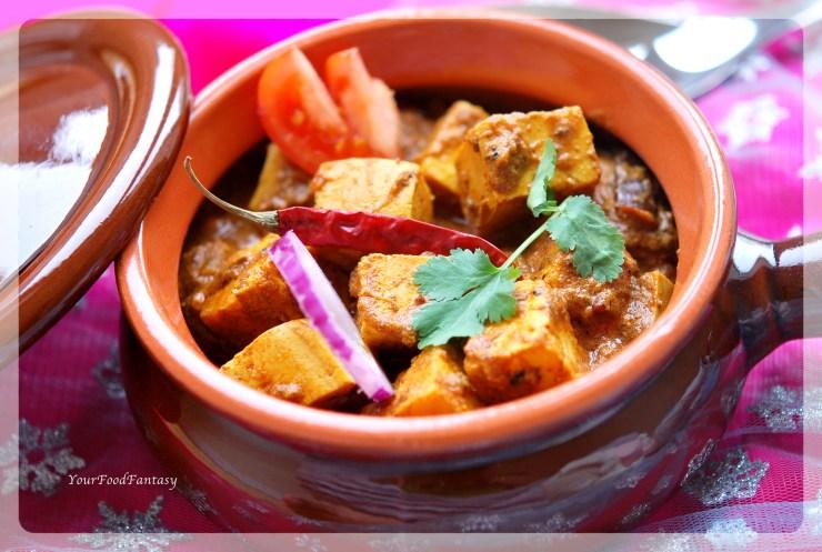 How to make Achari Paneer | YourFoodFantasy.com by Meenu Gupta