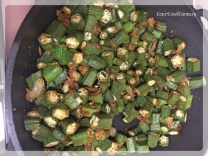 Bhindi Masala Recipe | YourFoodFantasy.com