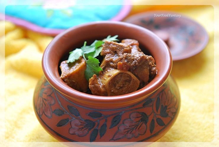 Handi Gosht Recipe | Mutton Stew | YourFoodFantasy.com
