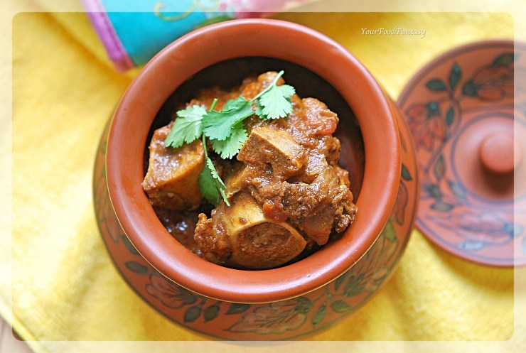 Handi Gosht Recipe | Lamb Stew | Your Food Fantasy by Meenu Gupta