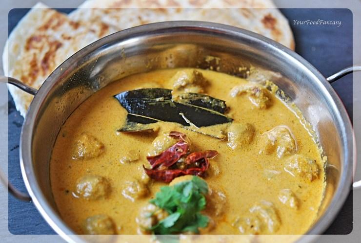 Mushroom Tikka Masala Recipe | Your Food Fantasy