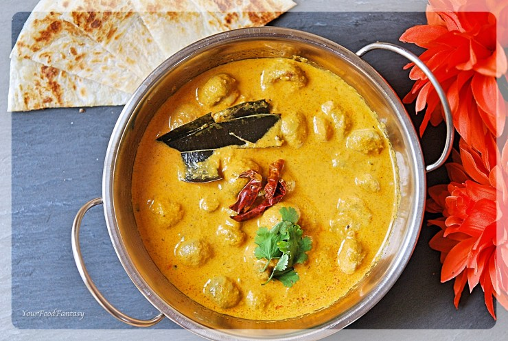 Mushroom Tikka Masala Recipe | YourFoodFantasy.com by Meenu Gupta