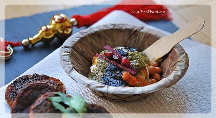 Aloo Potato Tikki Chaat Recipe   Your Food Fantasy