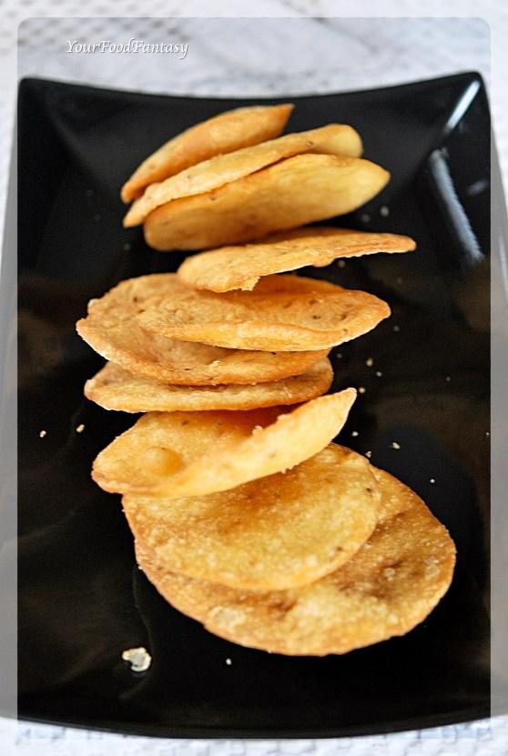Papdi recipe | Papdi for Papdi Chaat | YourFoodFantasy.com by Meenu Gupta