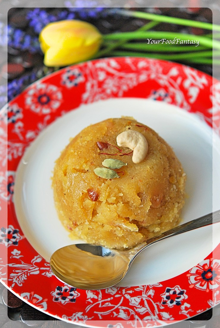 Sooji ka Halwa Recipe | Your Food Fantasy