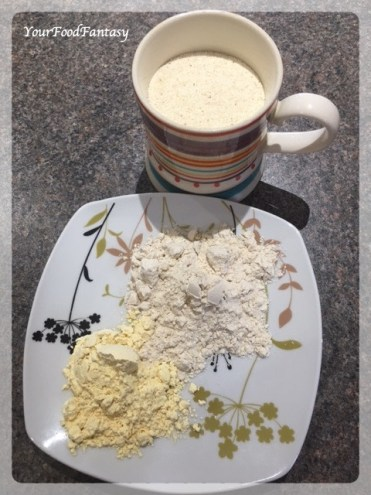 Ingredients for Sooji Halwa   Your Food Fantasy