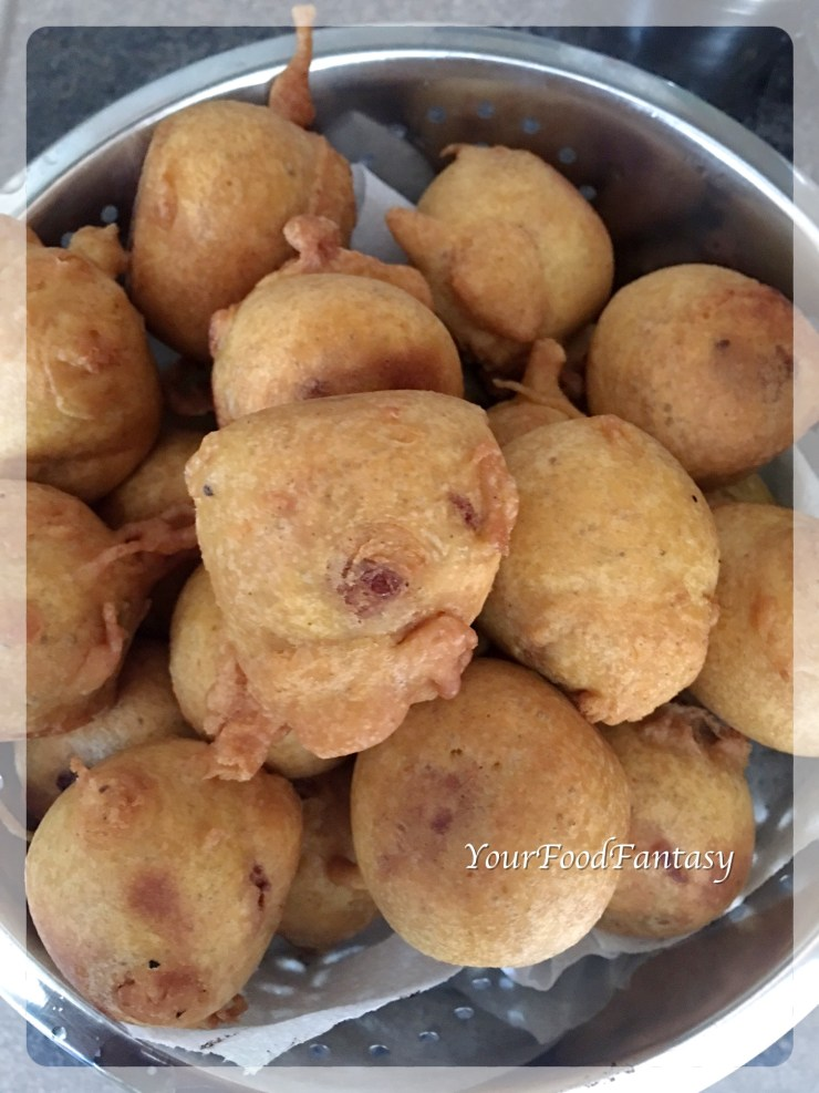 Vada for Vada Pav Recipe | Your Food Fantasy