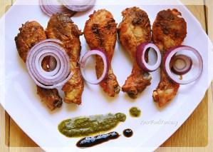 Indian Style Tandoori Chicken Oven Recipe   YourFoodFantasy.com