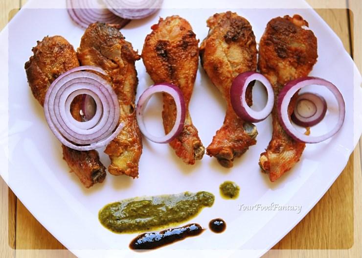 Indian Style Tandoori Chicken Oven Recipe | YourFoodFantasy.com