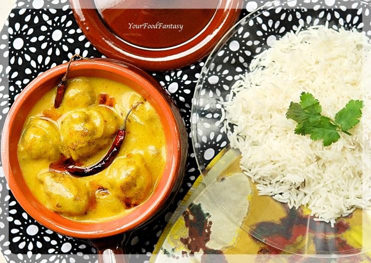 Punjabi Kadhi Pakora Recipe   Your Food Fantasy