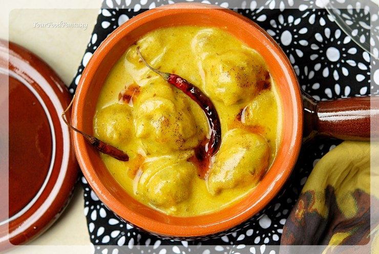Punjabi Kadhi Step by Step Recipe