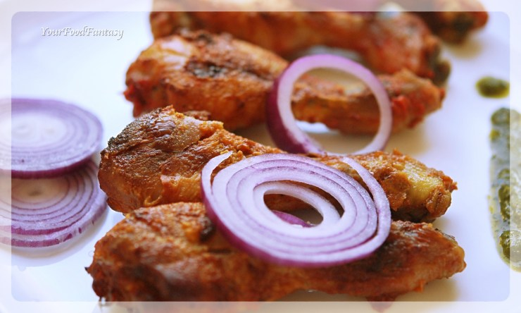 Restaurant Style Tandoori Chicken Recipe | Your Food Fantasy