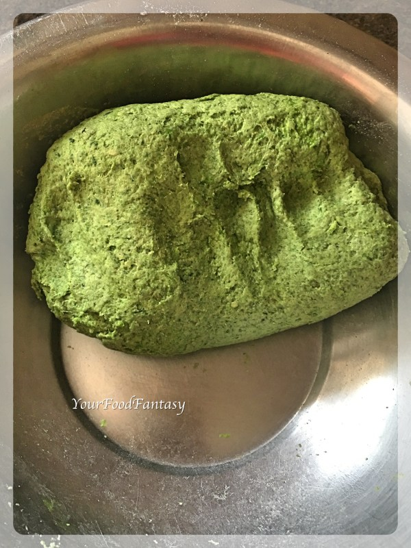 Dough for Palak Paneer Paratha | YourFoodFantasy.com