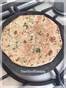 Making Broccoli Paratha | Your Food Fantasy
