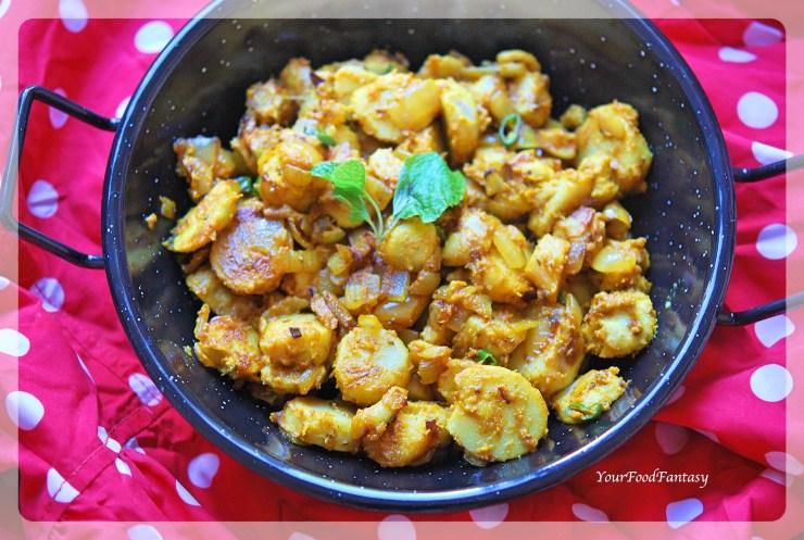 Masala Arbi Step by Step Recipe | Your Food Fantasy