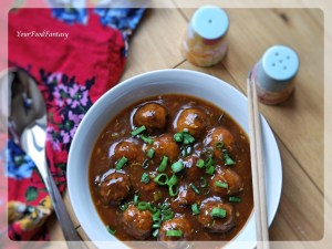 Vegetable Manchurian Recipe | YourFoodFantasy.com