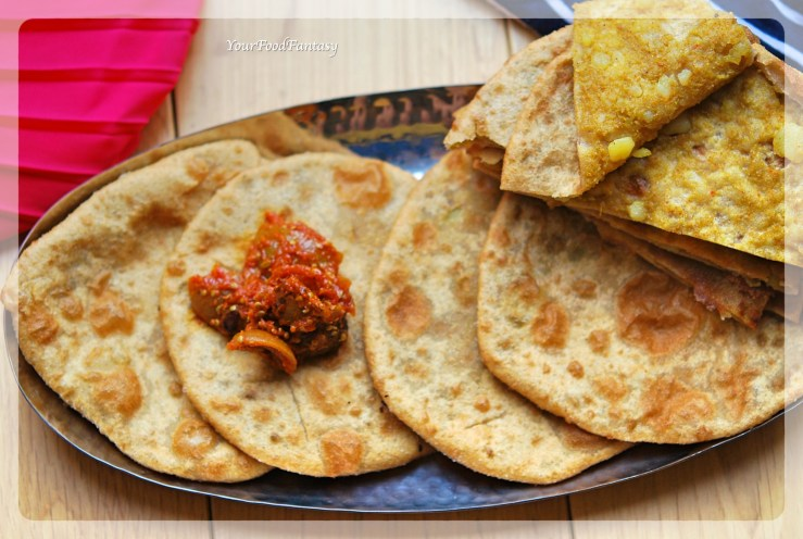 Aalo Ke Poori - Kachori | Your Food Fantasy