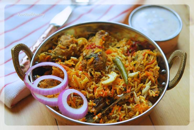 Authentic Chicken Dum Biryani Recipe | Your Food Fantasy