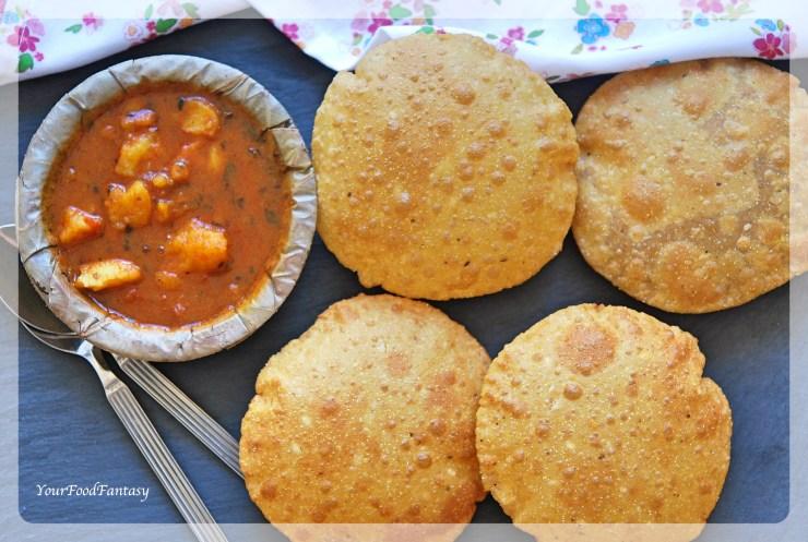 Bedmi Puri - Bedai Puri Recipe | Your Food Fantasy