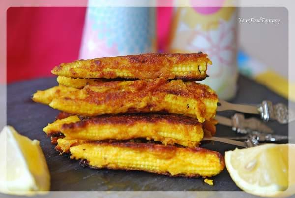 Baby corn Satay Recipe   YourFoodFantasy.com by Meenu Gupta