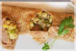 Buckwheat Flour Pancake | Kuttu Ka Dosa Recipe | Navratri Food