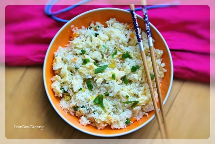 Egg Fried Rice Recipe | Your Food Fantasy by Meenu Gupta