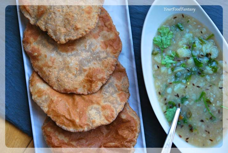 Kuttu Ki Poori Recipe | Buckwheat Flour Puri Recipe | Your Food Fantasy