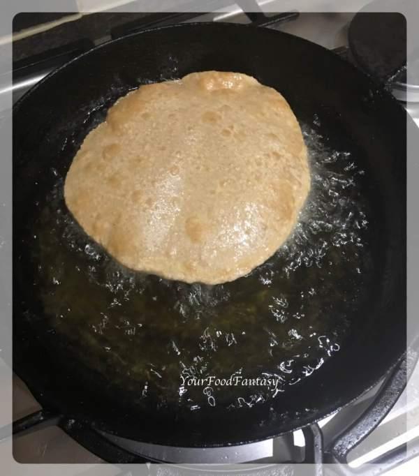 Kuttu Puffed Puri Recipe | Your Food Fantasy