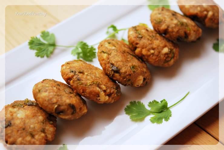 Makhane Ke Cutlet - Foxnut Seeds Cutlet Recipe | Your Food Fantasy by Meenu Gupta