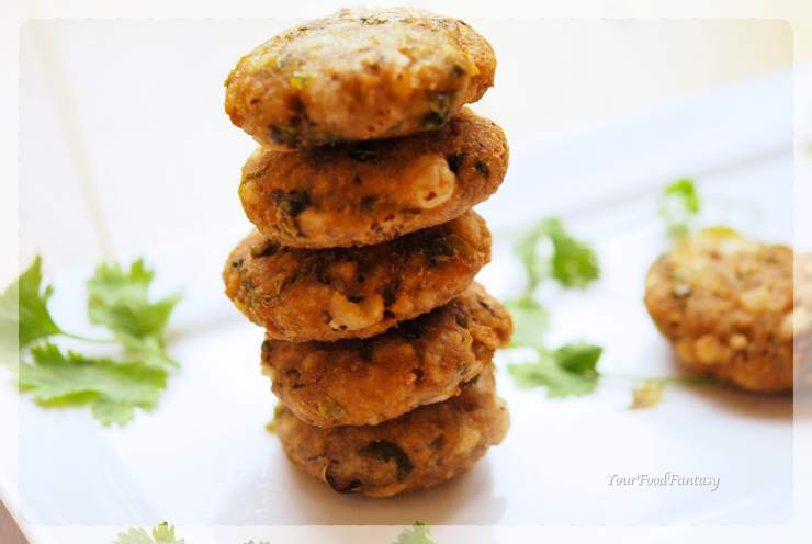 Makhane Ke Cutlet - Foxnut Seeds Cutlet Recipe | YourFoodFantasy.com by Meenu Gupta