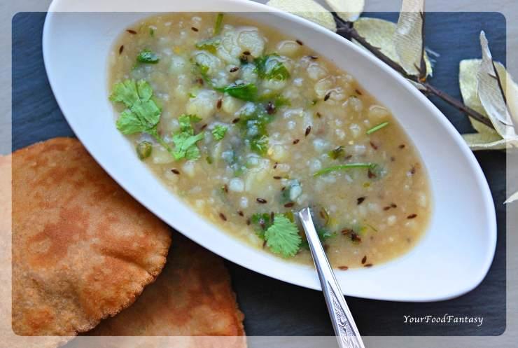 Vrat Special Aalo Ke Sabzi   Potato Curry for Navratri   Your Food Fantasy