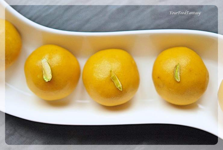 Besan Ladoo Recipe | YourFoodFantasy.com