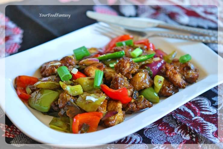 Indo-chinese chicken