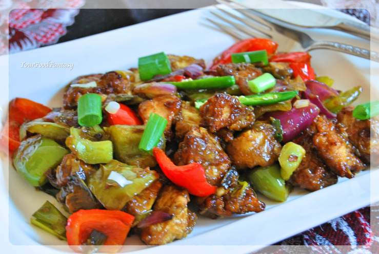 Chilli Chicken Recipe   YourFoodFantasy.com by Meenu Gupta