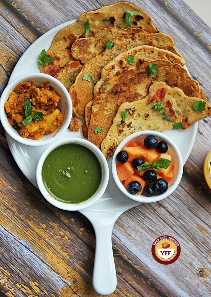 Gluten Free Besan Cheela | Vegan Recipes | Your Food Fantasy