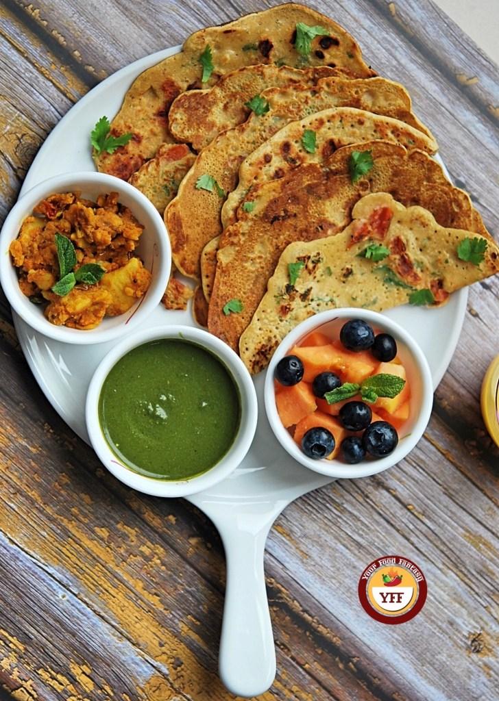 Gluten Free Besan Cheela   Vegan Recipes   Your Food Fantasy