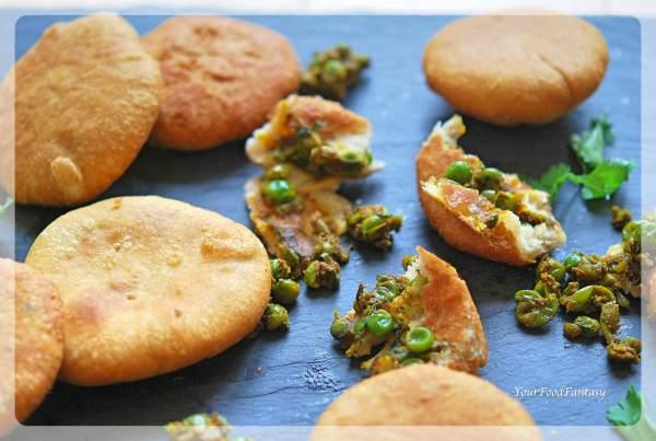 Matar Kachori How To Make   Your Food Fantasy