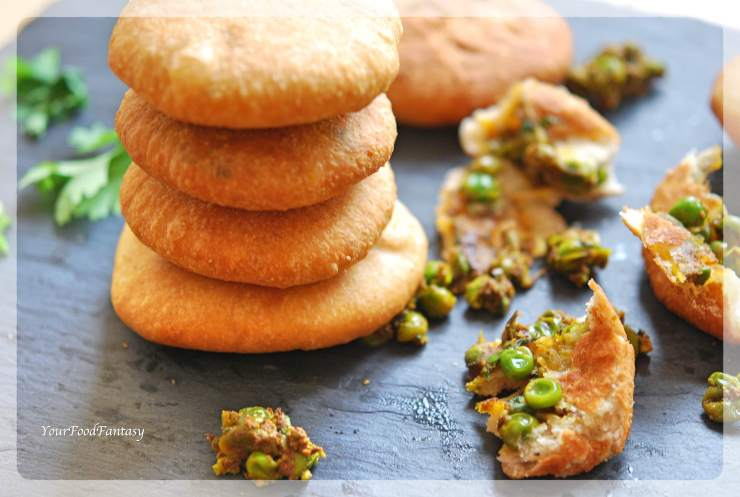 Matar Ke Kachori | Green Pea Stuffed Pastry | Your Food Fantasy by Meenu Gupta