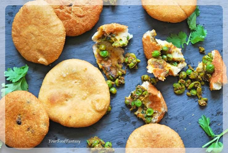 Matar Ke Kachori | Your Food Fantasy