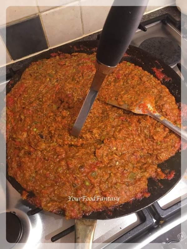 Mashing Bhaji | Pav Bhaji Recipe | Your Food Fantasy