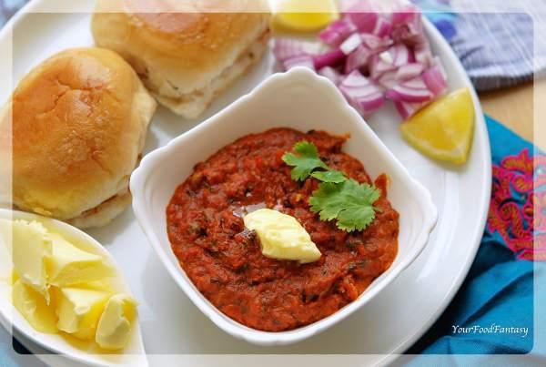 Pav bhaji how to make pav bhaji step by step your food fantasy mumbai pav bhaji recipe your food fantasy forumfinder Image collections