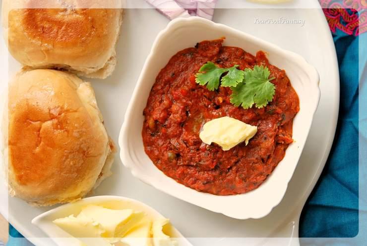 Pav Bhaji Recipe | Your Food Fantasy