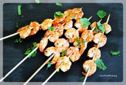 Prawn Starters Recipe | Prawn Skewers Recipe | Your Food Fantasy