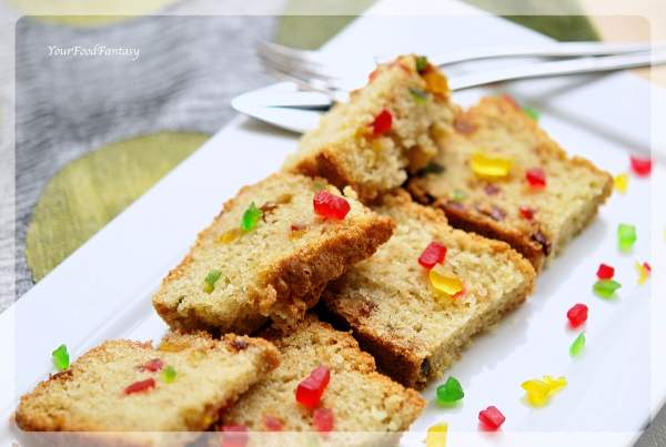 Tutti Frutti Cake Recipe | Your Food Fantasy by Meenu Gupta