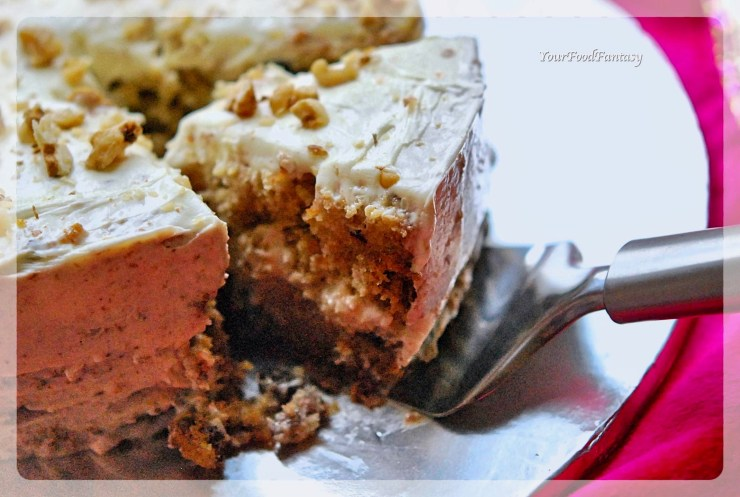 Carrot Cake Recipe | Your Food Fantasy
